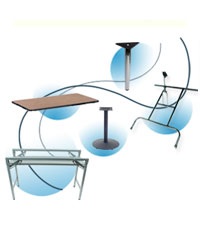 Table Legs & Table Parts