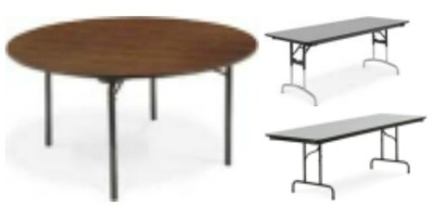 6000 and 6700 Folding Table Parts