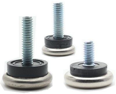 Rubber Cushion Leveling Feet Glides