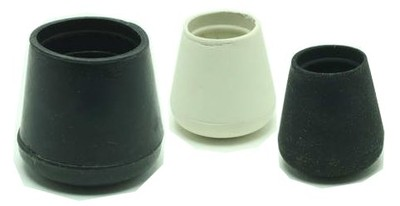 Smooth Rubber Crutch Tips and  Chair Glides