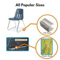 Glides for Sled Base Chairs