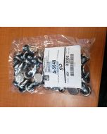 Leveling Adjustable Feet 1-1/16in base diameter 1/4-20 by 1/2in stem Rubber Cushion Style Bag of 50